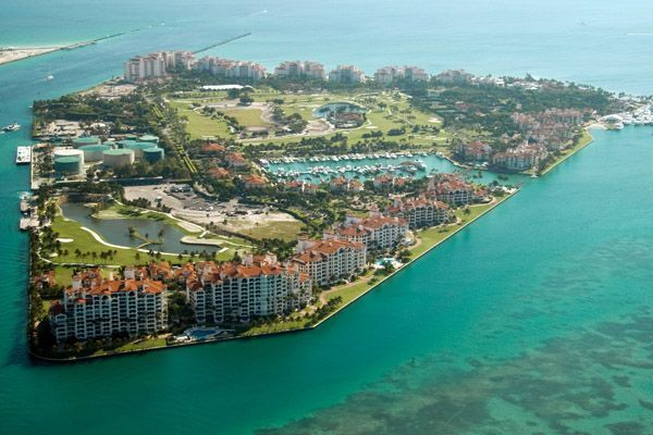 Fisher Island In Miami-Dade County, Florida